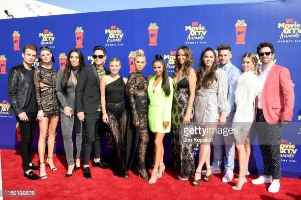 'Vanderpump Rules' cast attend the 2019 MTV Movie and TV Awards at Barker Hangar on June 15 2019 in Santa Monica California