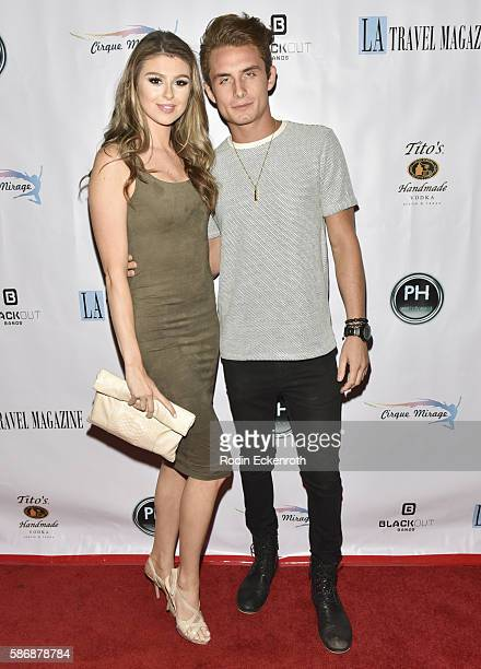 'Vanderpump Rules' personalities Raquel Leviss and James Kennedy attend Los Angeles Travel Magazine 2016 Endless Summer Issue Release at Penthouse...