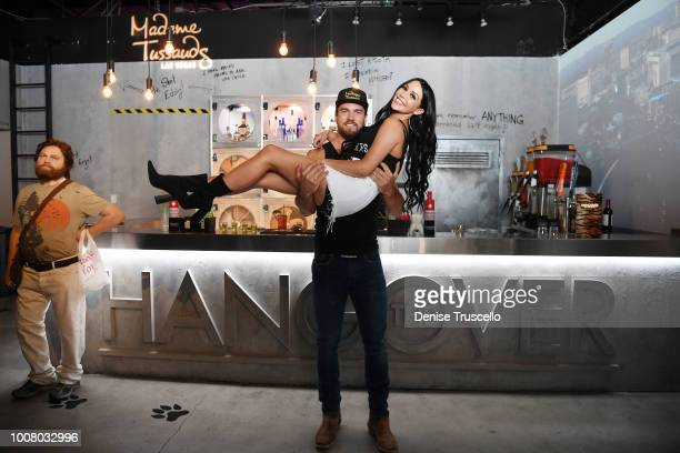 'Vanderpump Rules' Star Scheana Shay and Alex Biffin of Thunder From Down Under host official opening of The Hangover bar at Madame Tussauds Las...