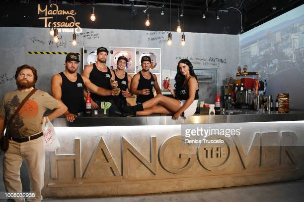 'Vanderpump Rules' Star Scheana Shay and Thunder From Down Under host official opening of The Hangover bar at Madame Tussauds Las Vegas on July 30...