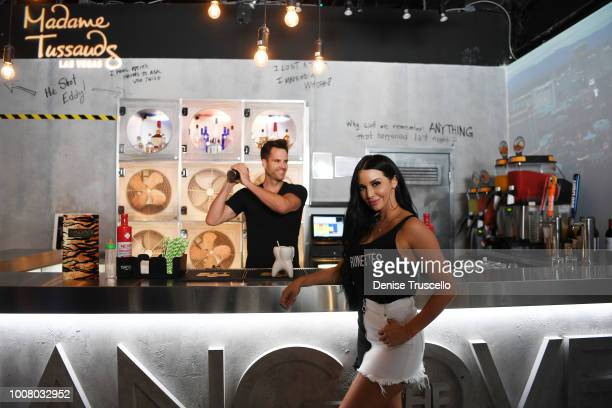 'Vanderpump Rules' Star Scheana Shay hosts official opening of The Hangover bar at Madame Tussauds Las Vegas on July 30 2018 in Las Vegas Nevada
