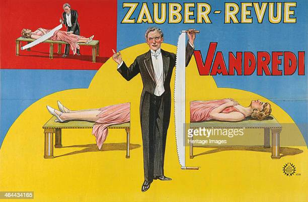 Vandredi Magic Revue 1923 From a private collection