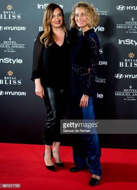 Vanesa Lorenzo attends 'El Jardin Del Miguel Angel And Instyle Beauty Night' party at Miguel Angel Hotel on May 22 2018 in Madrid Spain