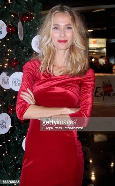 Vanesa Lorenzo attends the Christmas Tree lighting of World Duty Free at Barajas airport on November 16 2017 in Madrid Spain