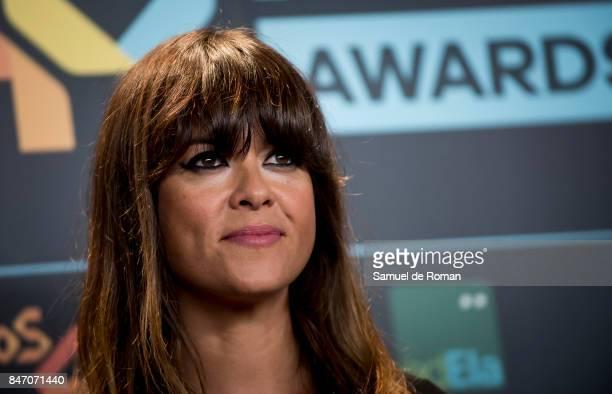 Vanesa Martin attends 40 Principales Awards candidates dinner 2017 on September 14 2017 in Madrid Spain