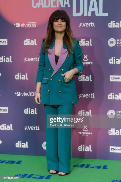 Vanesa Martin attends 'Cadena Dial' Awards 2018 Red Carpet on March 15 2018 in Tenerife Spain