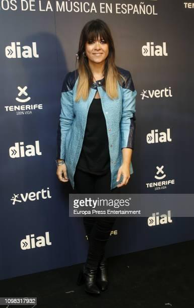 Vanesa Martin attends 'Cadena Dial' Awards Presentation on January 22 2019 in Madrid Spain