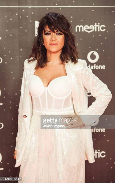 Vanesa Martin attends 'Los40 music awards 2019' photocall at Wizink Center on November 08 2019 in Madrid Spain