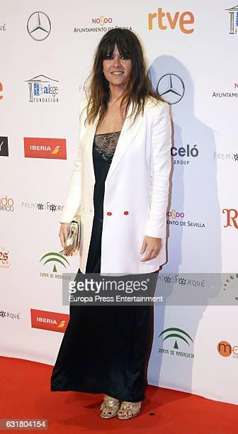 Vanesa Martin attends the Jose Maria Forque Awards 2016 at Teatro de la Maestranza on January 14 2017 in Seville Spain