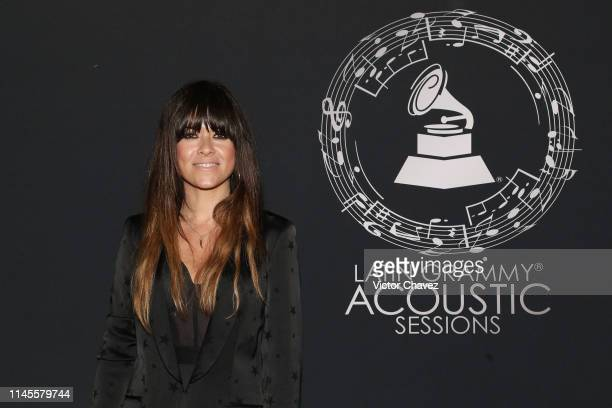 Vanesa Martin attends the Latin Grammy Acoustic Session Mexico at Soumaya museum on May 22 2019 in Mexico City Mexico