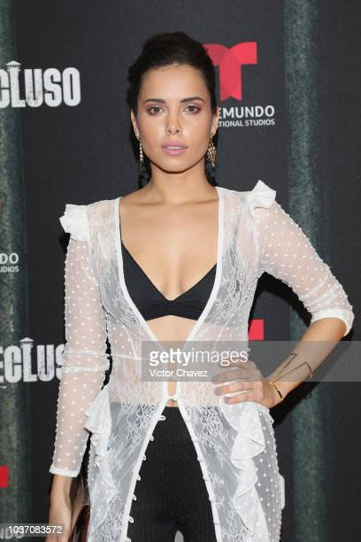 Mariana Seoane attends the special screening of Telemundo tv series 'El Recluso' at Four Seasons Hotel on September 20 2018 in Mexico City Mexico