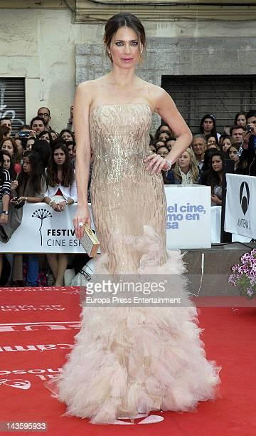 Vanesa Romero attends 15th Malaga Film Festival 2012 on April 28 2012 in Malaga Spain