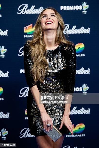 Vanesa Romero attends '40 Principales Awards 2014' at Palacio de los Deportes on December 12 2014 in Madrid Spain