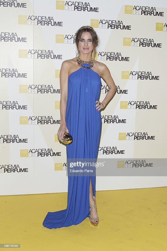 Vanesa Romero attends Academia del perfume awards photocall at Casa de America on November 20, 2012 in Madrid, Spain.