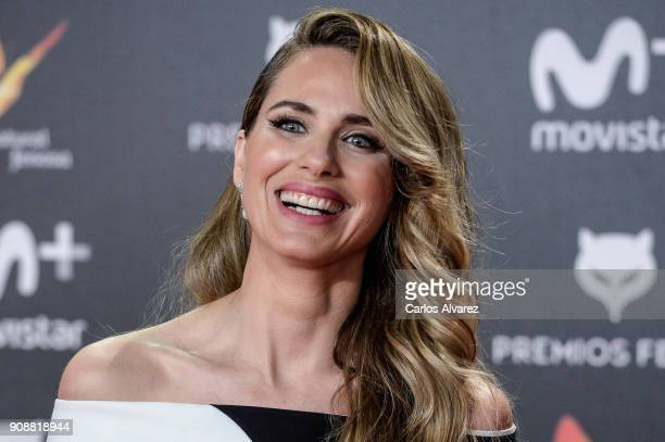 Vanesa Romero attends Feroz Awards 2018 at Magarinos Complex on January 22 2018 in Madrid Spain