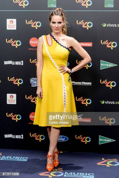 Vanesa Romero attends 'Los 40 Music Awards' photocall at WiZink Center on November 10 2017 in Madrid Spain