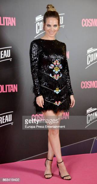 Vanesa Romero attends the Cosmpolitan Awards #COSMOAWARDS at Graf club on October 19 2017 in Madrid Spain
