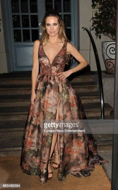 Vanesa Romero attends the Hannibal Laguna 30th anniversary Gala Dinner at the Santo Mauro hotel on November 30 2017 in Madrid Spain