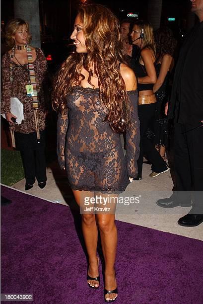 Vanessa Adriazola during MTV Video Music Awards Latinoamerica 2002 Arrivals at Jackie Gleason Theater in Miami FL United States