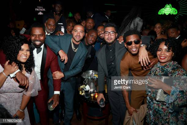 Vanessa Anderson Oronde Garrett Jesse Williams and guests attend the Second Annual 'Celebrate The Culture II' Celebrates Diversity In Hollywood...