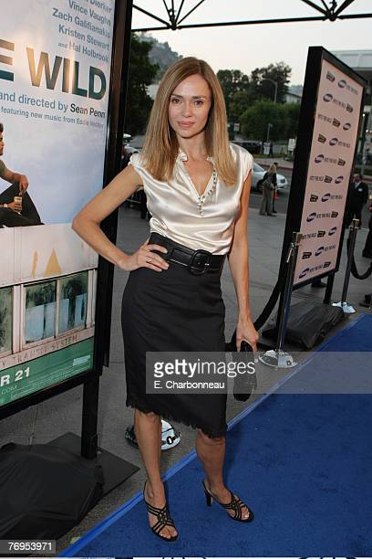 Vanessa Angel at the Los Angeles Premiere of Paramount Vantage Into The Wild at the Director's Guild of America on September 18 2007 in Los Angeles...
