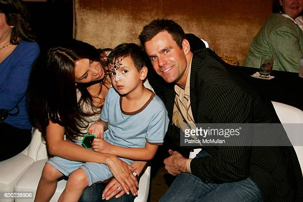 Vanessa Arevalo Lucas Arthur Mathison and Cameron Mathison attend A CELEBRATION OF CHILDREN National Love Our Children Day at Spotlight Live on April...