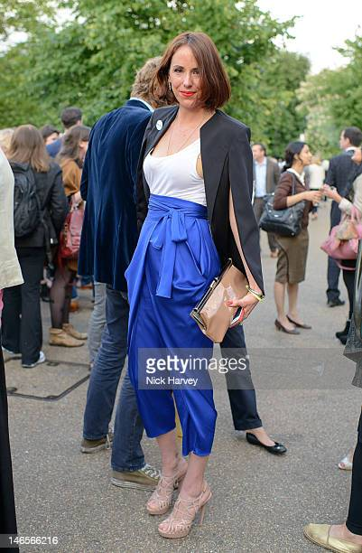 Vanessa Arielle attends the private view of Yoko Ono's exhibition 'To The Light' at The Serpentine Gallery on June 19 2012 in London England