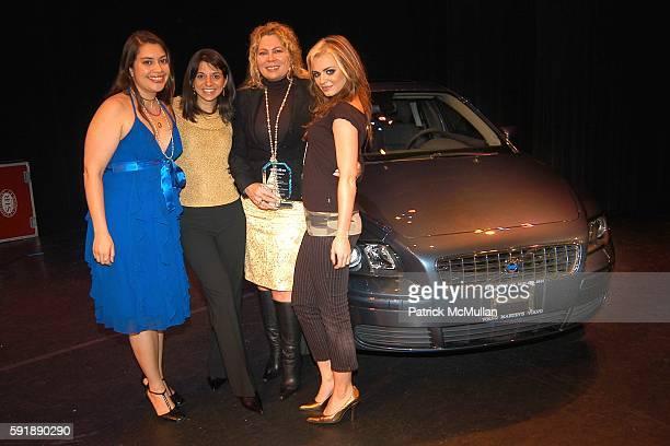 Vanessa Aspillaga Cathy Areu Mercedes JimenezRamirez and JD Natasha attend Groundbreaking Latina in Leadership Awards at Hudson Theatre on October 11...