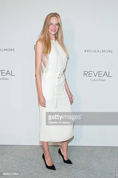 Vanessa Axente attends the REVEAL Calvin Klein Fragrance Launch at 4 World  Trade Center on September b2102359df