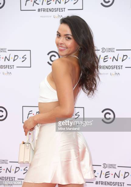 Vanessa Bauer during Comedy Central's FriendsFest: London Photocall at Clapham Common on June 24, 2021 in London, England.