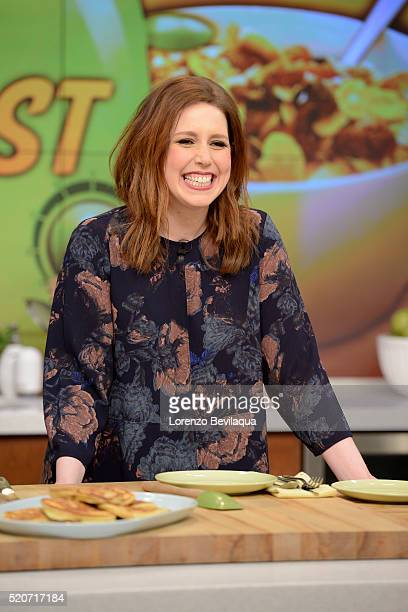 THE CHEW Vanessa Bayer and Lee Schrager are the guests today April 14 on 'The Chew' 'The Chew' airs MONDAY FRIDAY on the ABC Television Network BAYER