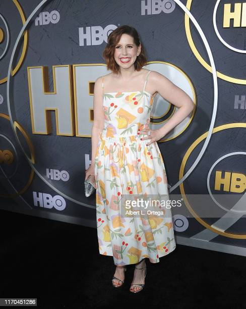 Vanessa Bayer arrives for the HBO's Post Emmy Awards Reception held at The Plaza at the Pacific Design Center on September 22, 2019 in West...