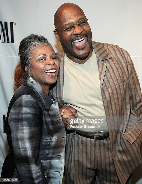 Vanessa Bell Armstrong and Pastor Marvin Winans attend the 11th Annual Trailblazers of Gospel Music Awards Luncheon at Rocketown on January 15 2010...