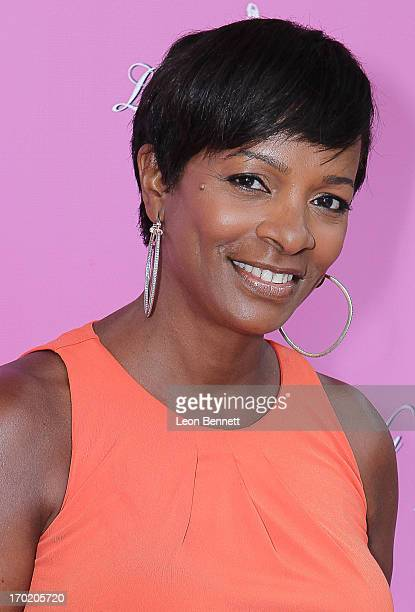 Vanessa Bell Calloway arrives at the Women of Excellence Awards at Luxe Hotel on June 8 2013 in Los Angeles California