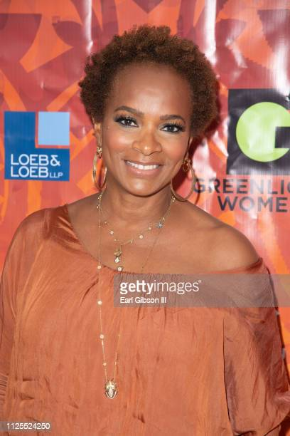 Vanessa Bell Calloway atends the Greenlight Women For Black History Month Brunch Celebration at The London on February 17 2019 in West Hollywood...