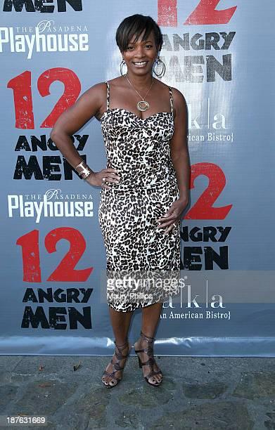 Vanessa Bell Calloway attends '12 Angry Men' at the Pasadena Playhouse on November 10 2013 in Pasadena California