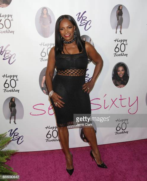 Vanessa Bell Calloway attends her 60th Birthday Bash at Cicada on March 18 2017 in Los Angeles California