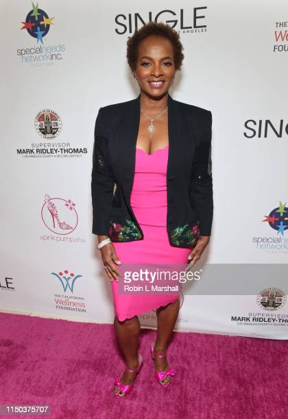 Vanessa Bell Calloway attends the 11th Annual A Pink Pump Affair luncheon at The Beverly Hilton Hotel on May 19 2019 in Beverly Hills California
