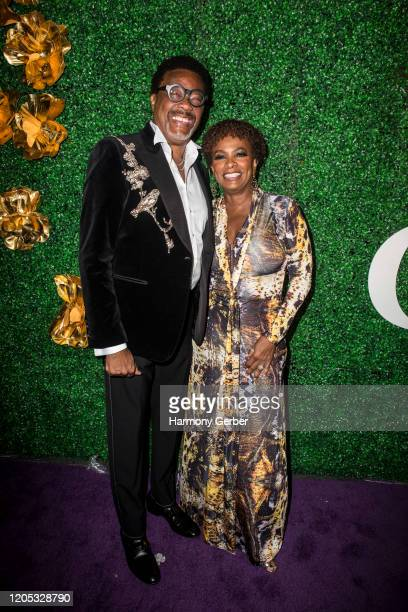Vanessa Bell Calloway attends the 3rd Annual Griot Gala Oscars After Party 2020 Hosted By Michael K. Williams at Ocean Prime on February 09, 2020 in...