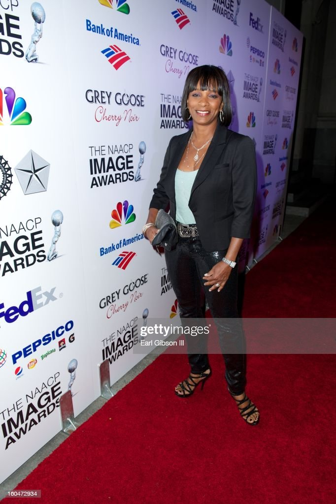 Vanessa Bell Calloway attends the 44th NAACP Image Awards Pre-Gala at Vibiana on January 31, 2013 in Los Angeles, California.