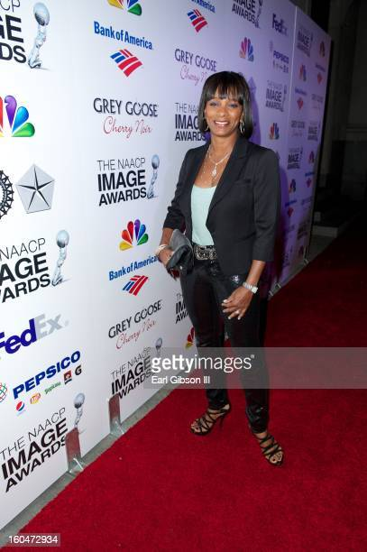 Vanessa Bell Calloway attends the 44th NAACP Image Awards PreGala at Vibiana on January 31 2013 in Los Angeles California