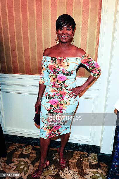 Vanessa Bell Calloway attends the 8th Annual ESSENCE Black Women in Hollywood Luncheon on February 19 2015 in Beverly Hills California