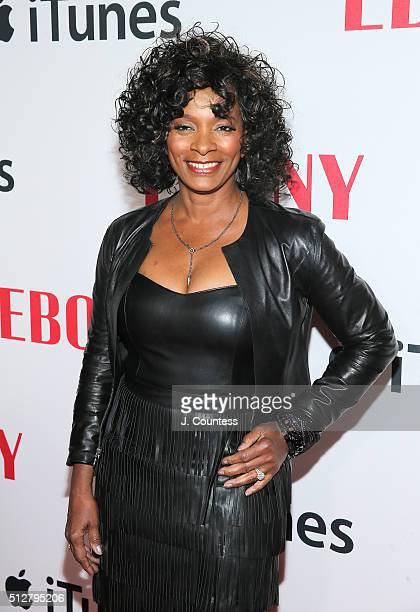 Vanessa Bell Calloway attends the Ebony Magazine And Apple Celebrate Black Hollywood party at NeueHouse Hollywood on February 27 2016 in Los Angeles...