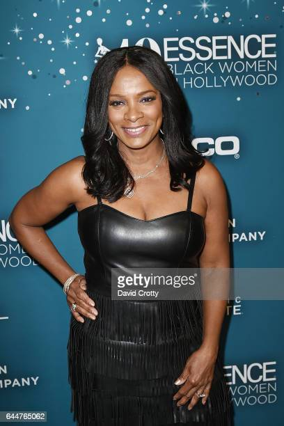 Vanessa Bell Calloway attends the Essence 10th Annual Black Women In Hollywood Awards Gala Arrivals at the Beverly Wilshire Four Seasons Hotel on...