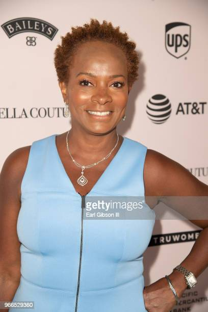 Vanessa Bell Calloway attends the Ladylike Foundation's 2018 Annual Women Of Excellence Scholarship Luncheon at The Beverly Hilton Hotel on June 2...