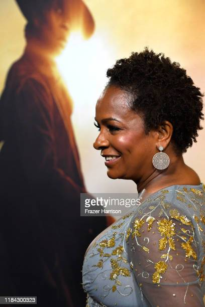 Vanessa Bell Calloway attends the Premiere Of Focus Features' Harriet at The Orpheum Theatre on October 29 2019 in Los Angeles California