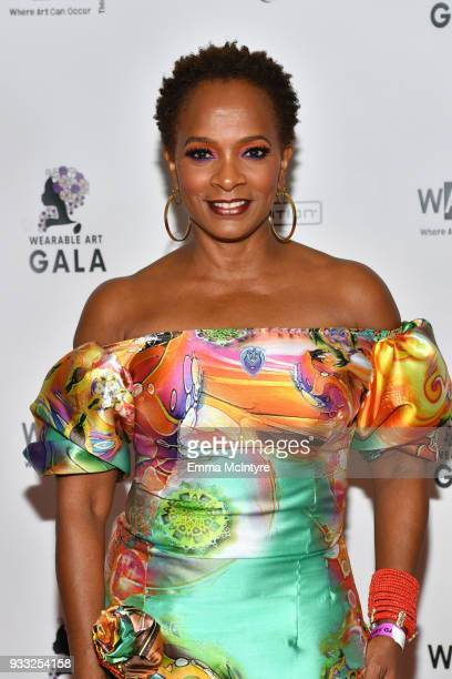 Vanessa Bell Calloway attends WACO Theater's 2nd Annual Wearable Art Gala on March 17 2018 in Los Angeles California