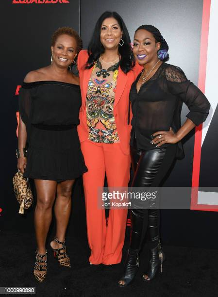 Vanessa Bell Calloway Cookie Johnson and Tichina Arnold attend premiere of Columbia Picture's Equalizer 2 at TCL Chinese Theatre on July 17 2018 in...