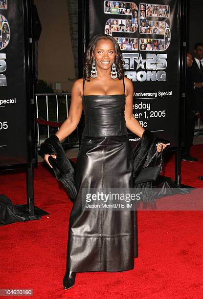 Vanessa Bell Calloway during BET 25th Anniversary Show Arrivals at Shrine Auditorium in Los Angeles California United States