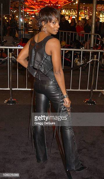 Vanessa Bell Calloway during Biker Boyz Premiere at Mann's Chinese Theatre in Hollywood California United States